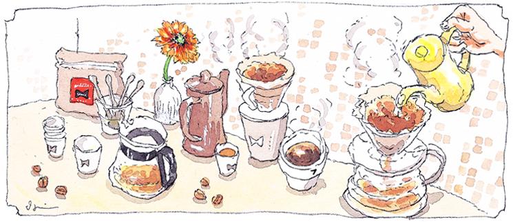 珈琲豆販売
