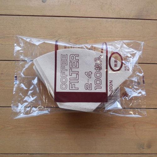 《フィルター》COFFEE FILTER 2-4 (100枚入)