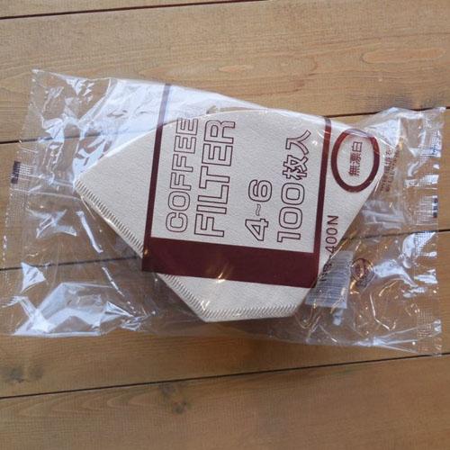 《フィルター》COFFEE FILTER 4-6 (100枚入)