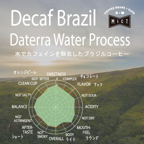 《デカフェ》ブラジル ダテーラ ウォータープロセス