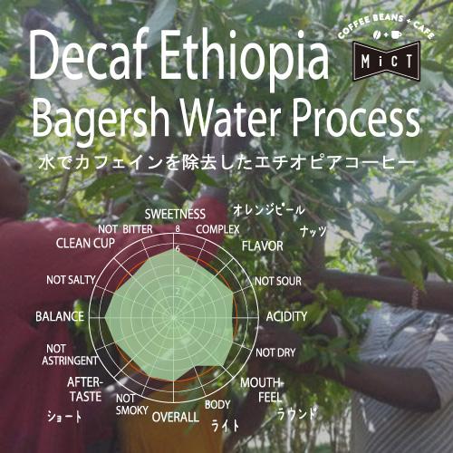 《デカフェ》 エチオピア バカージュ ウォータープロセス