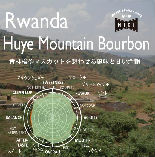 終売《Top specialty》ルワンダ フイエマウンテン