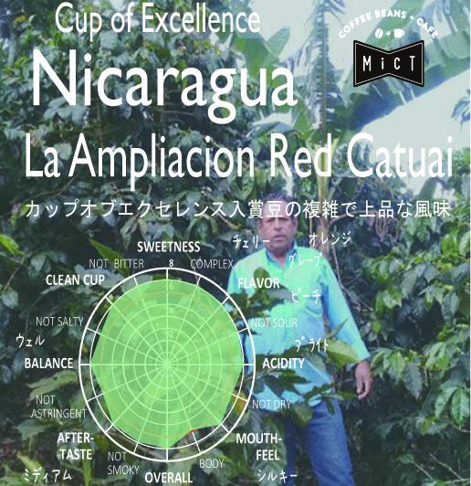完売しました《入賞豆》ニカラグア アンプリアシオン