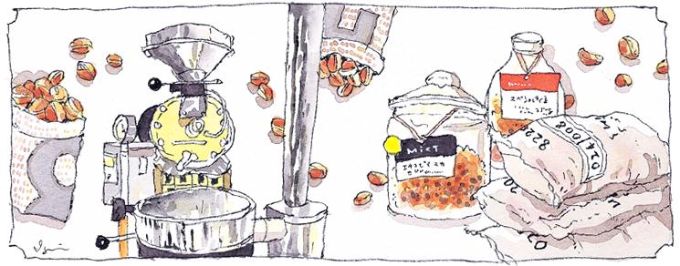 スペシャルティコーヒー本来の風味高く、深い味わい。お客様の好みに合わせてお好きな焙煎方法をお楽しみ下さい。